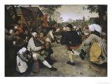 Peasants Dancing  c1568