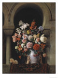 Vase of Flowers in the Window