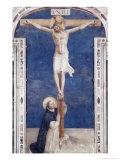 Crucifixcion with Saint Dominick  c1438-1445