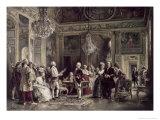 John Paul Jones and Benjamin Franklin at Louis XVI's Court