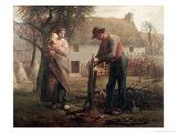 Peasant Grafting a Tree