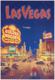 Las Vegas, Nevada Reproduction d'art par Kerne Erickson