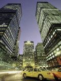 Taxi at Night  NYC