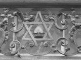 Iron Work in Historic Jewish Quarter  Prague