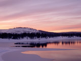 Sunset  Boca Reservoir  Truckee  CA