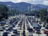 Traffic  405 North  Los Angeles  CA