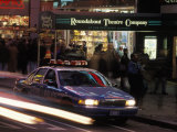 Police Car in Times Square  NYC