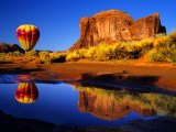 Arizona  Monument Valley  Hot Air Balloon