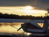 Backlit Floatplane  AK