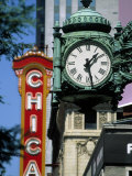 Landmarks on Two State St  Chicago  IL