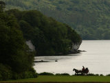 Ireland  Killarney  Horse and Cart by Lake