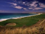 Cours de golf El Dorado, Cap San Lucas, Mexique Papier Photo par Walter Bibikow