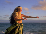 Hawaiian Hula at Sunrise  HI