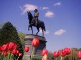 George Washington Statue  Boston Public Gardens