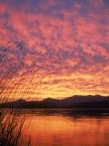 Sandpoint  Id  Sunset on Lake