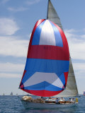 Sailboat Race  Pt Huron to Mackinac Island  MI