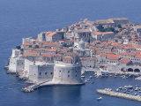 Old Wall City of Dubrovnik  Croatia
