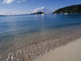 Maho Bay  Virgin Islands National Park  St John