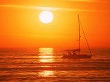 Boats in Harbor  Playa Del Rey  CA