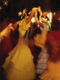 Danseuses de flamenco, Espagne Papier Photo par Peter Adams