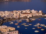 Mykonos Town at Sunset  Mykonos  Greece