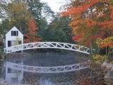 Foot Bridge  Mount Desert Island  Maine