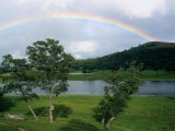Rainbow in the Highlands of Scotland