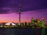 Toronto Skyline at Night  Canada