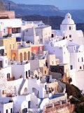View of Santorini  Greece