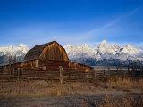Barn  Grand Teton National Park  WY