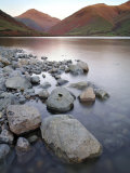 Wast Water in the Lake District at Sunset  UK