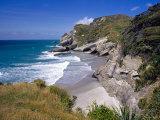 Secluded Beach  Cape Farewell  South Island
