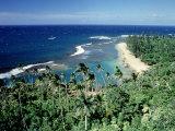 Kee-E Beach  Na-Pali Coast  Kauai  Hawaii