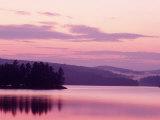 Sunset  Adirondack Lake  NY