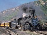 Steam Locomotive  Durango  Colorado