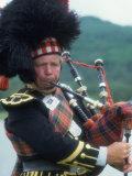 Bagpipe Player  Scotland
