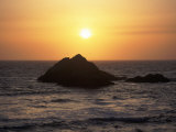 Seal Rock at Sunset  San Francisco  CA
