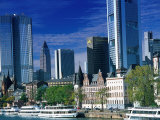 Cityscape of Frankfurt  Germany
