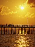 Sunset Over Virginia Beach  VA