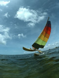 Catamaran Sailing  Biscayne Bay  Miami  FL