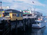 Boats at Fishermans Wharf  CA