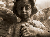 Guardian Angel in Cemetery