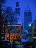 Night Time in Kitzbuhel  Austria