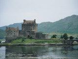 Eilean Donan Castle  West Coast  Scotland