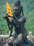 Statue of Disciple of Tian Tan Buddha