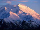 Sunset at Mt Mckinley  Denali National Park  AK