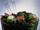 Garden Salad in Bowl
