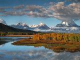 Wyoming  Grand Teton National Park  Snake River