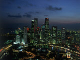 Skyline from Westin Stamford Hotel  Singapore