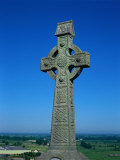 Celtic Cross with Knotted Desings  7th Century  Ireland